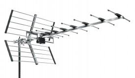 TV-antenni UHF K21-48 25el 11-16,5dBi 1110mm