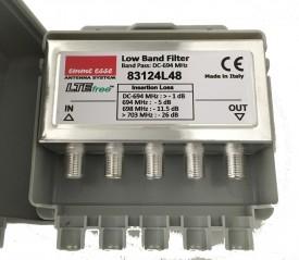 Estosuodin LTE 21-48 mastokotelo F-liittimet 8 cells LTE700