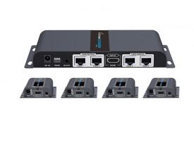 HDMI CAT6-linkki/jako 4 40m 1080 loop edid