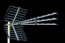 TV-antenni UHF 21-60 15dB, 3-runkoinen, 47el