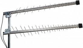 GSM/UMTS/3G/4G/WLAN/LTE-suuntant 2 x P-58+kiinn 45° 10m SMAu MIMO