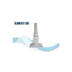 Antennijalka kaatuva Glomeasy nylon 5/8  x24 sisäkier valk