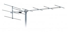 TV-antenni VHF K5-12 7-10dBi 9 element 1540 mm 10 kpl/ltk