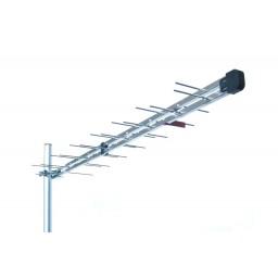 TV-antenni UHF 21-48 11dBi 26ele logper 1100m STUB LTEsuodin