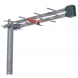 TV-antenni UHF 21-48 8dBi 14el logper 636mm STUB LTE filter