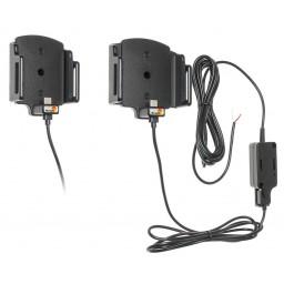 aktiivipidike 2A USB C säädettäv leveys 62-77mm  paksuus 6-10mm