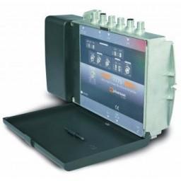 Aluevahvistin FM/VHF/UHF LTE-suo 8-30/8-30/20-40dB 110dBuV