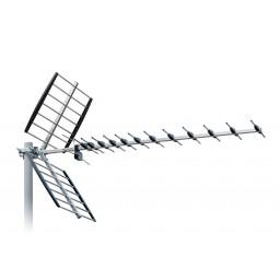 UHF-antenni 21-48 11-15 dBi 44el 1265mm 10kpl/pkt