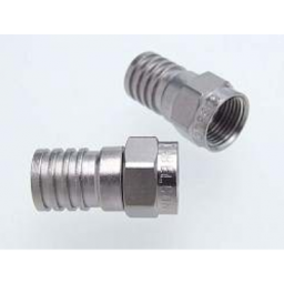 F-uros purist. ø6,8mm, RG6 TS61L-kaapelille, Cabelcon