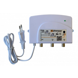 Pientalovahvistin VHF15-30dB /UHF18-28dB 40-694MHz LTE-suod