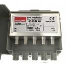 Estosuodin LTE DC-694 F-liittimet LTE700 Mastokotelo