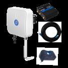 QuMax kotelo +RUT240 reititin +POE virtalähde+10m LAN kaapeli