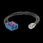 Antenniadapteri ISO/2xFakra Audi,VW 2008>