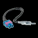 Antenniadapteri 2xFakra/DIN Audi