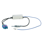 Antenniadapteri 2xFakra/DIN VW 08> +virransyöttö diversity