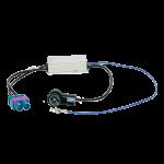 Antenniadapteri 2xFakra/ISO VW 08> +virransyöttö diversity