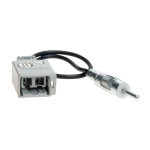 Antenniadapteri DIN/Volvo S80 S40/V40 2001>
