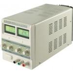 Säädettävä virtalähde 230 VAC -> 0 - 30 VDC, 3 A