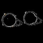 Kaiutinadapteri BMW 3xx 90-98 130mm/5,25
