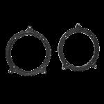 Kaiutinadapteri BMW 3xx 98> 130mm/5,25