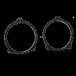 Kaiutinadapteri BMW 3xx E46 165mm/6,5