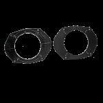 Kaiutinadapteri Ford Mondeo, Focus, Ka 130mm/5,25  etu-/taka