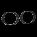 Kaiutinadapteri Ford Mondeo, Focus, Ka 165mm/6,5  etu/taka