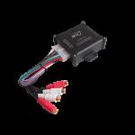 Linjamuunnin 4-kanav 150W + remote ja trigger säädettävä