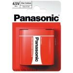 Litteä paristo 3R12 4,5V Panasonic Zinc Carbon