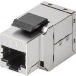 CAT6a-runko STP läpivienti Keystone-moduuli metalli