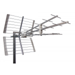 TV-antenni UHF 21-48 41e LTE700 12-18dBi 1145mm 5kpl/lte ICE