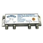 Linjavahvistin V9125 ja V9112 12/24VDC AGC