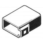 ISO-naaras virtapuoli, musta (ISO-kontaktit 554051)