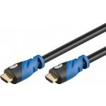HDMI-välijohto 5m 4k@60Hz Premium High Speed 18 Gbit/s