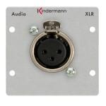 PRO IN XLR-naaras 3Pin Neutrik® socket (f) 50*50 mm