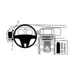 ProClip autokoht kiinnike Volvo V60 S60 11-14 vasen