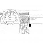 ProClip autokoht kiin Volvo S80 V70 XC70 07-11 oikea