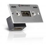 PRO IN -HDMI-runko kulmaliitin naarasliitin