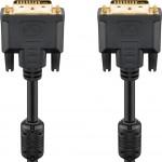 DVI-D-välijohto 24+1 3m Digi Dua l IP TK8430