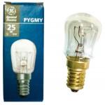 Uunilamppu 25W 240V 300°C E14 60x26mm IP-pakattu