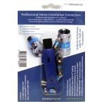 Kaapelinkuorija RG6/59 & 6kpl Cabelcon Self-Install F-liitin