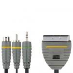 välij SCART/3,5mm+SVHSpeo+RCA 2m