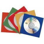 CD-tasku 50kpl/pkt paperi värilajitelma 5 eri väriä