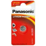 Lithiumparisto CR1220 3V 35mAh Panasonic