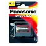 Lithiumparisto CR123A 3V 1400mAh Panasonic