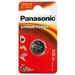 Lithiumparisto CR2025 3V 165mAh 12/120 Panasonic