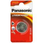 Lithiumparisto CR2430 3V 285mAh 12/120 Panasonic