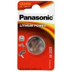 Lithiumparisto CR2450 3V 620mAh 12/120 Panasonic
