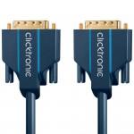 DVI-D-välijohto 24+1 1m Clicktronic Casual