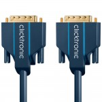 DVI-D-välijohto 24+1 10m Clicktronic Casual